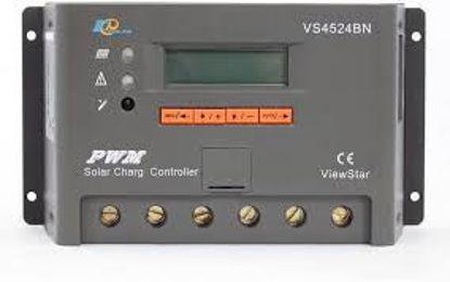 تصویر شارژکنترلر 45 آمپر Ep Solar مدل VS4524BN