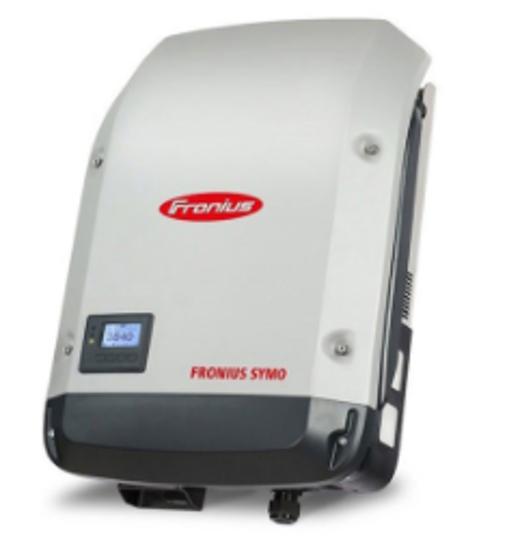 تصویر اینورتر 10 کیلووات سه فاز Fronius مدل Symo 10.0-3-M Full